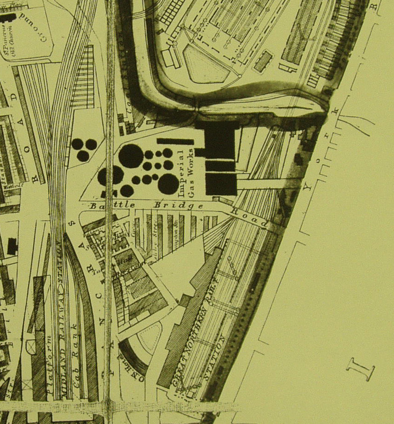 GooglebridgeKX as it was in 1874