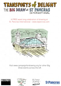St Pancras Big Draw