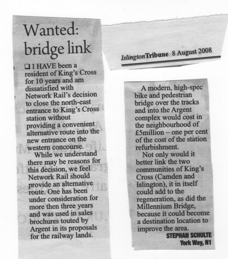 Islington Tribune 8 August 2008